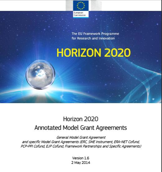 horizon  annotated model grant  greements horizon